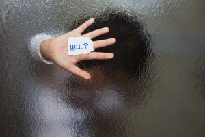 Hand seeking help